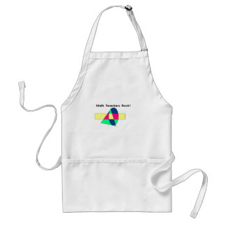 Math Teachers Rock! Standard Apron