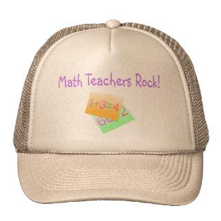 Math Teachers Rock Trucker Hat
