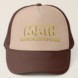 Math Trucker Hat