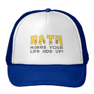 Math Tshirts and Gifts Trucker Hats