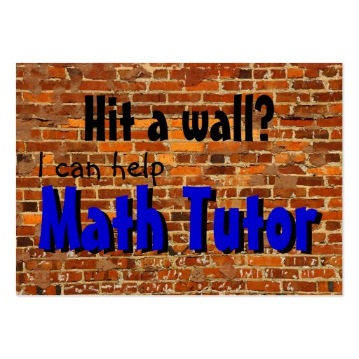 create your own tutor business cards