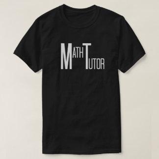 Math Tutor in Fun Text T-Shirt