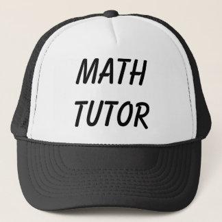 MATH TUTOR TRUCKER HAT