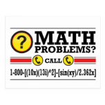 Math Tutoring Humour Gift Postcard
