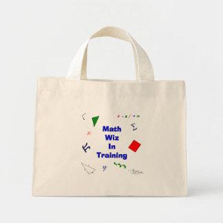 Math Wiz in Training Mini Tote Bag