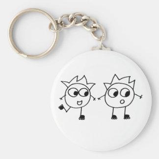 Mathberries Blading Buddies Key Ring