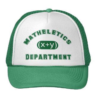 Matheletics Department Cap