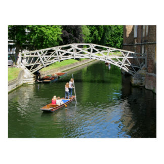 Mathematical Bridge, Cambridge Postcard
