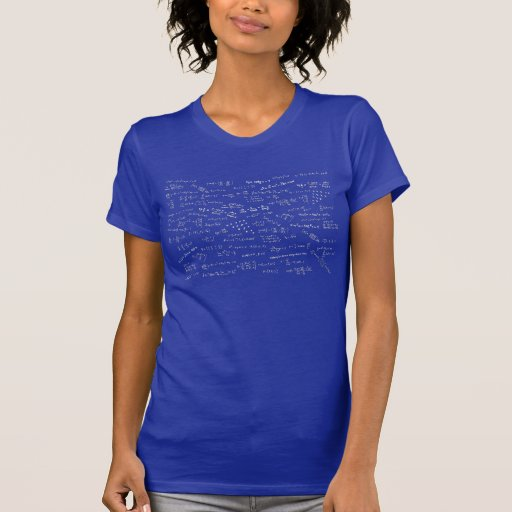 Mathematical Formulas Tshirts