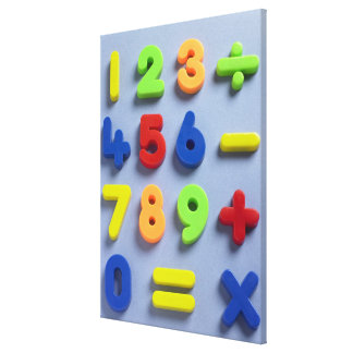 Mathematical magnets canvas print