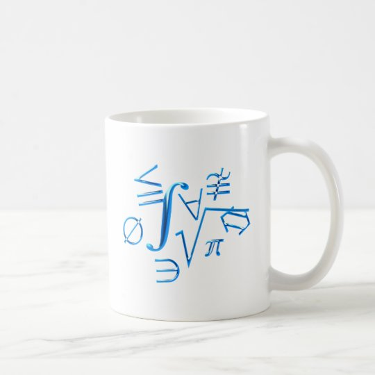mathematical symbols mathematical symbol coffee mug