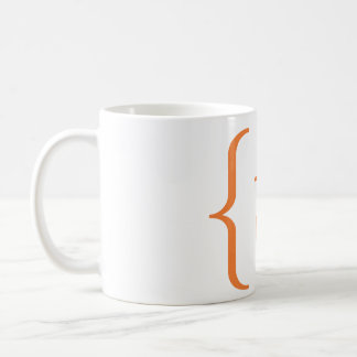 Mathematical 't' set coffee mug