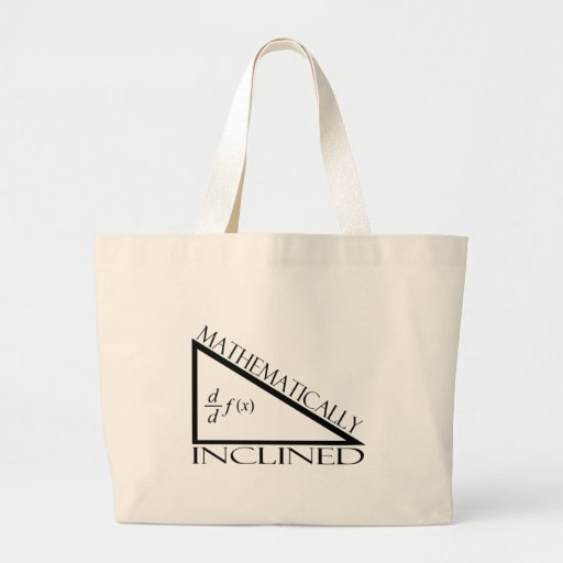 Mathematically Inclined Canvas Bag
