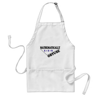 Mathematically Obtuse Aprons