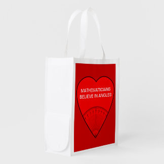 Mathematicians Believe In Angles Market Tote