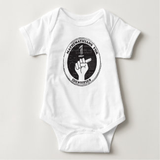 Mathematicians for Identities Baby One-piece Baby Bodysuit