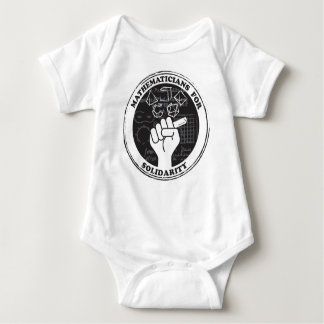 Mathematicians for Solidarity Baby Bodysuit