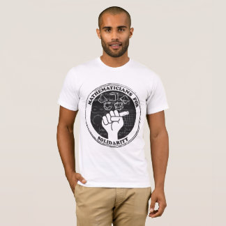 Mathematicians for Solidarity T-shirt
