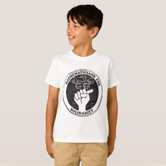 Mathematicians for Solidarity T-shirt - Kids