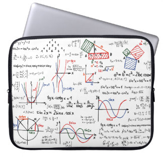 Mathematics Cheat Sheet Laptop Sleeve