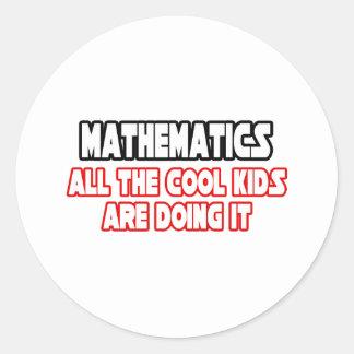 Mathematics Cool Kids Sticker