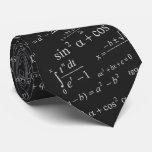 Mathematics Equation for Math Geek Teacher Student Tie