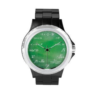 Mathematics Equation Geek Watch
