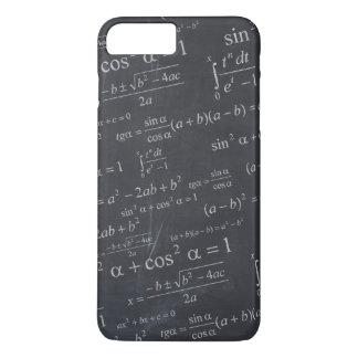 Mathematics Formulas on Chalkboard - Funny Unique iPhone 8 Plus/7 Plus Case