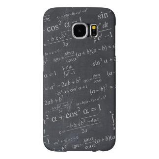 Mathematics Formulas on Chalkboard - Funny Unique Samsung Galaxy S6 Cases