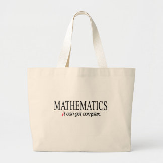 Mathematics _ it can get complex canvas bags