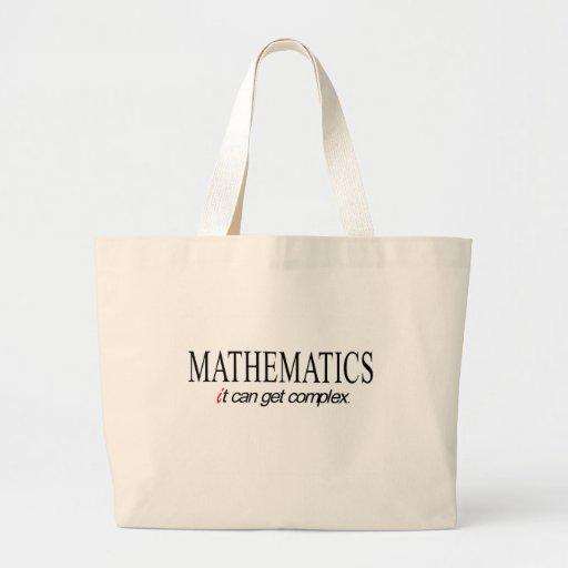 Mathematics _ it can get complex canvas bags