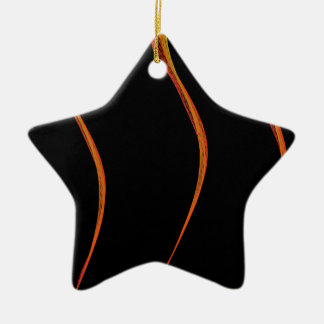 Mathematics Mystery Flames Christmas Ornament