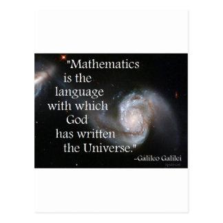 Mathematics Postcard