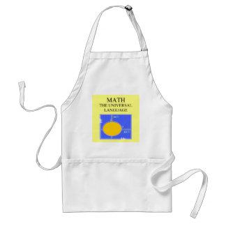 mathematics rules apron