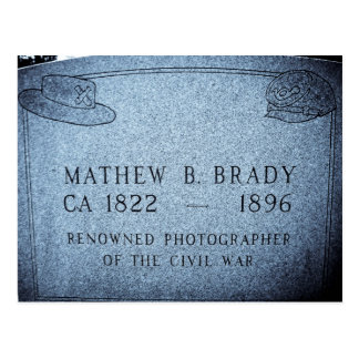 Mathew Brady  - Famed Civil War Photographer Postcard