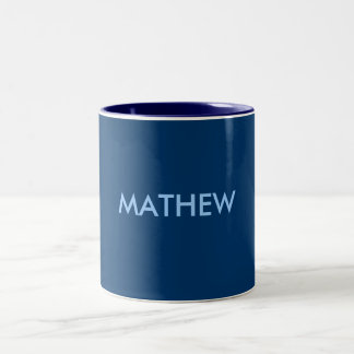 MATHEW Two-Tone MUG