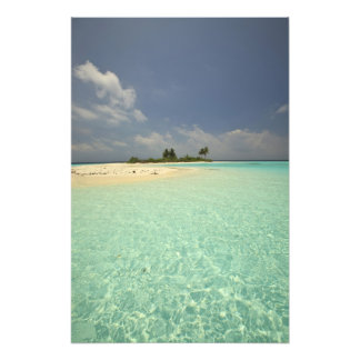 Mathidhoo Island, uninhabited, North Huvadhoo Photo Print