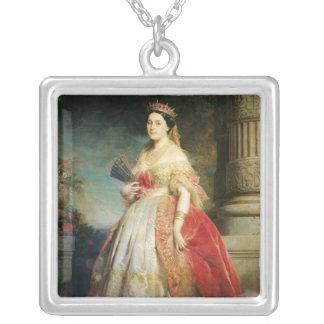Mathilde Laetitia Wilhelmine Bonaparte  1861 Silver Plated Necklace