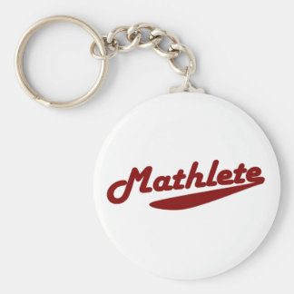 Mathlete Key Ring