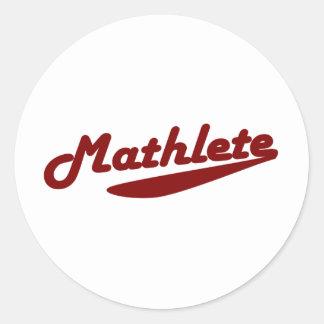 Mathlete Stickers