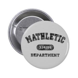 Mathletic Department 6 Cm Round Badge
