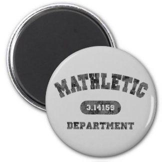 Mathletic Department 6 Cm Round Magnet