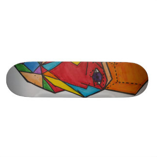 Mathmatical Faces 21.3 Cm Mini Skateboard Deck