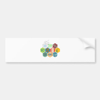 maths bumper sticker