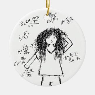Maths Madness Christmas Tree Ornaments