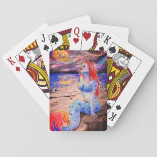 Matia mermaid playing cards