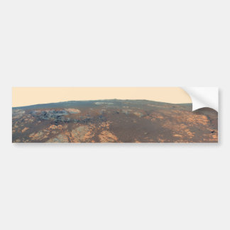 Matijevic Hill Panorama From Mars Rover Bumper Stickers