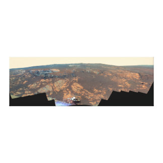 Matijevic Hill Panorama From Mars Rover Gallery Wrapped Canvas