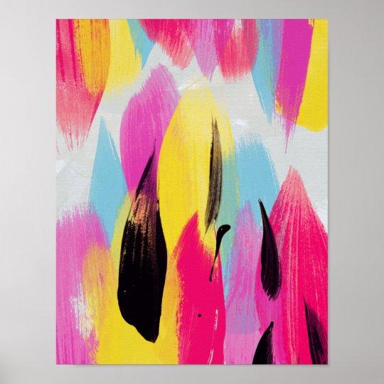 Matilda // Abstract Painting Poster