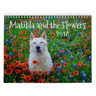 Matilda and the Flowers Calendar